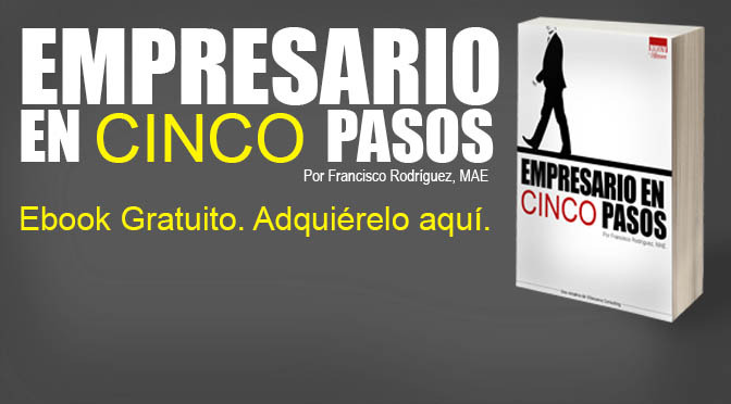 Ebook: Empresario en cinco pasos
