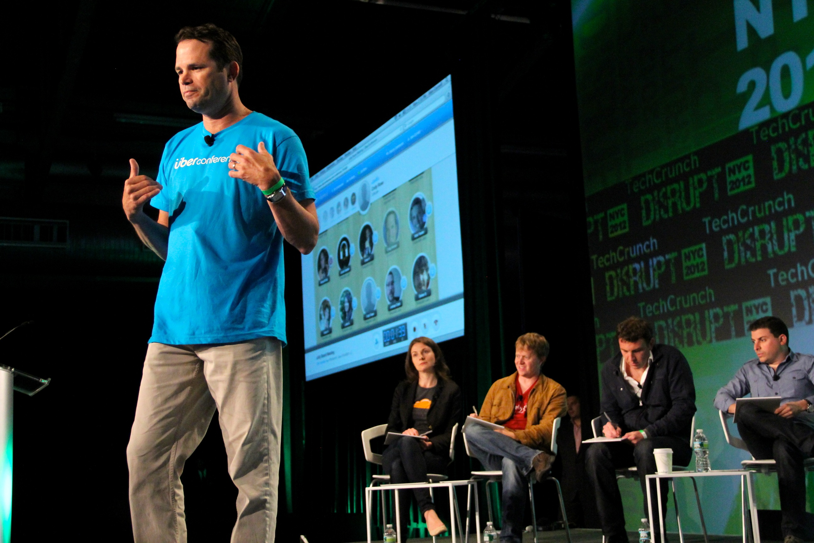 Techcrunch - conferencia